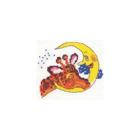 Баю-бай, набор для вышивания крестиком, 11х9см, 9цветов Алиса