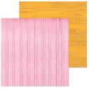 Доски розовые–доски оранжевые, фотофон двусторонний 45х45см картон