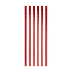Красный, клей для малого клеевого пистолета 20см*7мм 1шт Micron