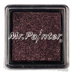 Сливовый, штемпельная подушка с эффектом блеска 34х34х20мм Mr.Painter