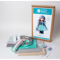 Света, набор для шитья куклы 35см. Pugovka Doll