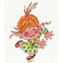 Клара, набор для вышивания крестиком, 11х14см, 10цветов Алиса