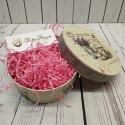 Розовый, наполнитель бумажный уп.50гр