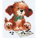 Тоша, набор для вышивания крестиком, 10х13см, 7цветов Алиса