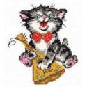 Соло, набор для вышивания крестиком, 10х13см, 9цветов Алиса