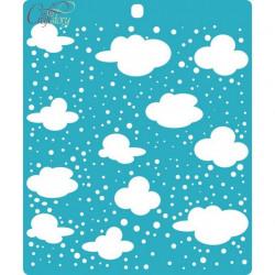 Облака, трафарет 15х18см толщина 0,5мм CraftStory