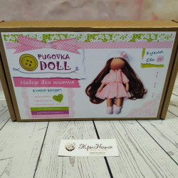 Ева, набор для шитья куклы 20см. Pugovka Doll