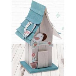Лесная сказка, набор для создания домика из бумаги 10х22х12см