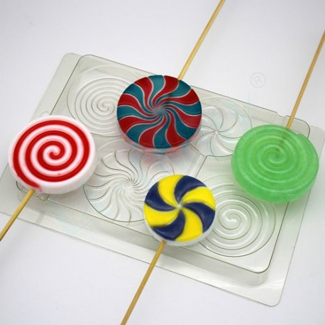 Леденцы, пластиковая форма для мыла XD