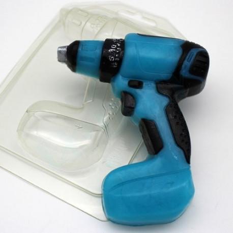 Шуруповерт, пластиковая форма для мыла 115г 107х87х22мм XD