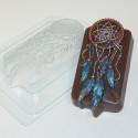 Ловец снов, пластиковая форма для мыла 95г 104х52х25мм XD