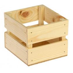 Ящик реечный, натуральный, 11х12х9см SL