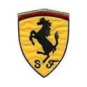 Эмблема с конем, 9х7см, аппликация на клеевой основе