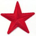Красная звезда, 8,4см, аппликация на клеевой основе