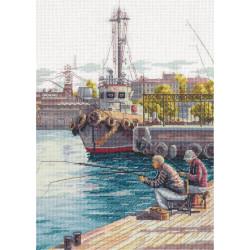 Выходной!, набор для вышивания крестиком, 21х29,5см, 39цветов Panna