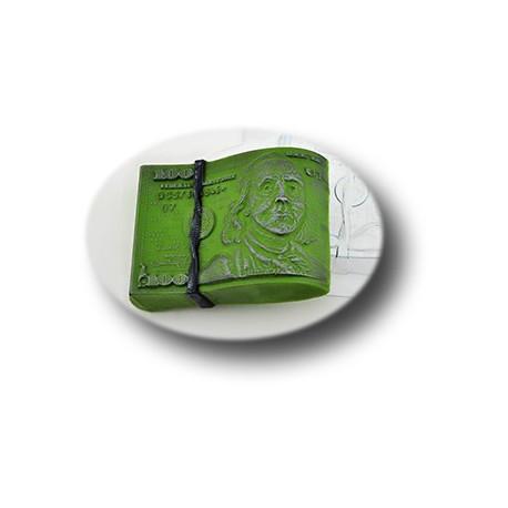 Пачка баксов, пластиковая форма для мыла МФ