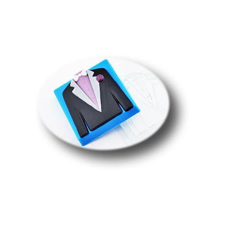Свадебный пиджак, пластиковая форма для мыла МФ