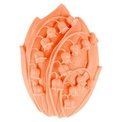 Ландыши, силиконовая форма для мыла