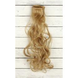 Т.русый, кудри волосы для кукол 40см на трессе 50см цв.№16 SL