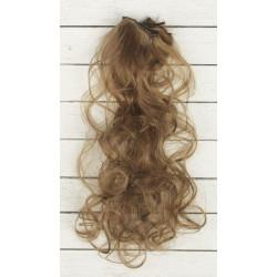 Св.каштан, кудри волосы для кукол 40см на трессе 50см цв.№18Т SL