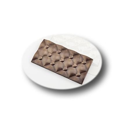 Плитка сердечки, пластиковая форма для шоколада МФ