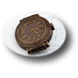 Шоко-часы, пластиковая форма для шоколада МФ