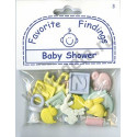 BABY SHOWER, пуговицы 22мм 13шт., Favorite Findings