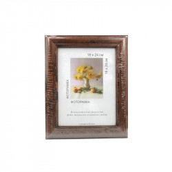 Т.коричневый, рамка деревянная с оргстеклом 18х24см