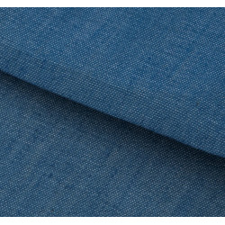 Голубой, ткань для пэчворка мягкая джинса 47х50см SL