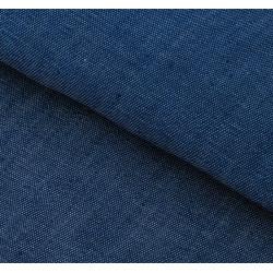 Синий, ткань для пэчворка мягкая джинса 47х50см SL