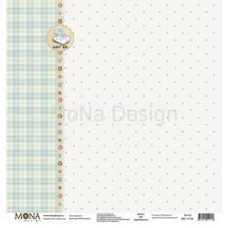 Башмачки из коллекции Мой мальчик, лист односторонней бумаги 30х30см, 190гр/м MoNa design
