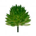 Суккулент, декоративный элемент для флористики, пвх 4,5х4,5см 1шт