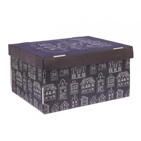 Дом там, где сердце, коробка складная 31х26х16см гофрокартон АртУзор