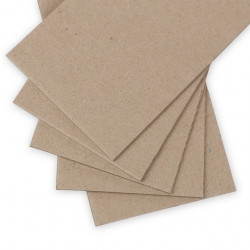 Переплетный картон 2мм 1250 г/м2  50х70см. Love2art