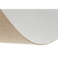 Переплетный картон белый с одной стороны 0,9мм 450г/м2 30х30см SL