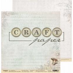 Чувство вкуса, коллекция Ретро бумага для скрапбукинга двусторонняя 30,5x30,5см 190г/м CraftPaper
