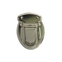 Никель, застежка для портфеля 25х34мм