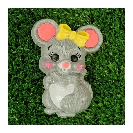 Мышка с бантиком, пластиковая форма PC