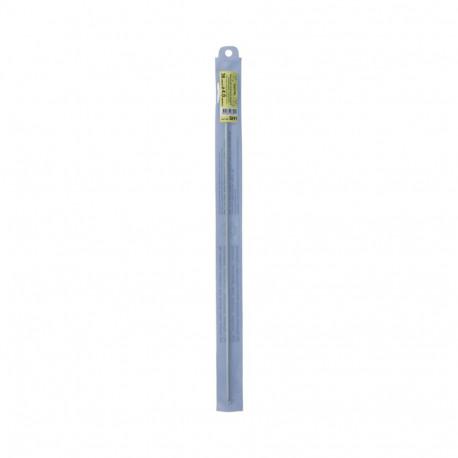 Крючок для тунисского вязания  металл d4мм 36см, GAMMA
