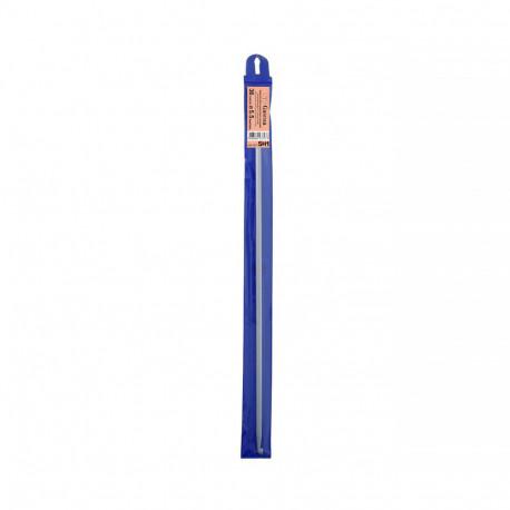 Крючок для тунисского вязания  металл d5,5 мм 36см, GAMMA
