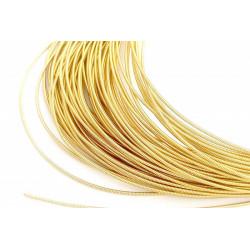 Золото светлое, канитель жёсткая 1,2мм 4,5-5гр