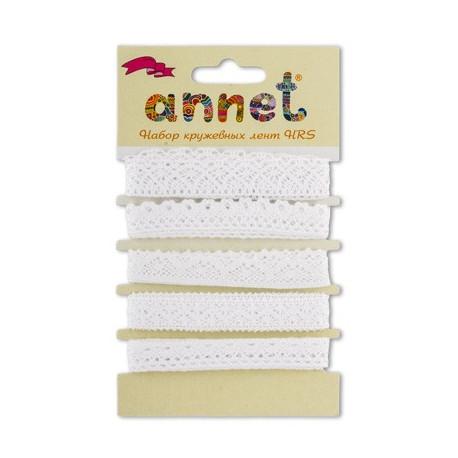 Набор кружевных лент, 5шт по 1м , Annet