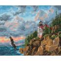 Парящий орел, набор для вышивания крестиком, 32х24см, 26цветов Алиса