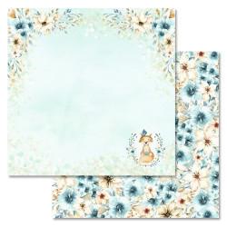 Время счастья, коллекция Этника. Детская, бумага для скрапбукинга 30,5x30,5см 180г/м ScrapMania