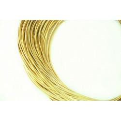 Золото лимонное, канитель жёсткая 1,2мм 4,5-5гр