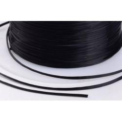 Черный, резинка для бисера 1мм 18 м, GAMMA