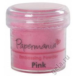 Розовый, пудра для эмбоссинга 28,3гр. Papermania
