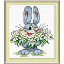 От всей души, набор для вышивания 15х10см 13цветов Жар-птица
