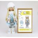 Илона, набор для шитья куклы 35см. Pugovka Doll