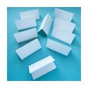 Белый Яичная скорлупа, карточки рассадочные 5х9см 10шт ЛЗ